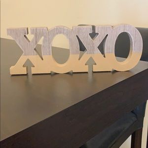 Other - XOXO hanging sign that can stand on its own